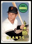 1969 Topps #464 YN Dave Marshall  Front Thumbnail