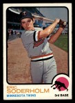 1973 Topps #577  Eric Soderholm  Front Thumbnail