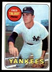 1969 Topps #332  Fred Talbot  Front Thumbnail