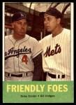 1963 Topps #68   -  Duke Snider / Gil Hodges Friendly Foes Front Thumbnail