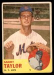 1963 Topps #273  Sammy Taylor  Front Thumbnail
