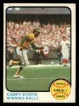 1973 Topps #209   -  Bert Campaneris 1972 World Series - Game #7 - Campy Starts Winning Rally Front Thumbnail