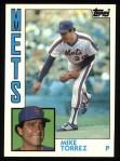 1984 Topps #78  Mike Torrez  Front Thumbnail