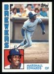 1984 Topps #167  Marshall Edwards  Front Thumbnail