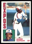1984 Topps #200  Andre Dawson  Front Thumbnail