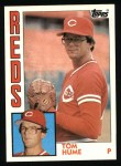 1984 Topps #607  Tom Hume  Front Thumbnail