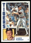 1984 Topps #640  Lance Parrish  Front Thumbnail