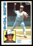 1984 Topps #783  Luis Leal  Front Thumbnail