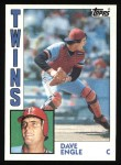 1984 Topps #463  Dave Engle  Front Thumbnail