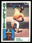 1984 Topps #493  Mike Norris  Front Thumbnail
