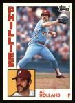 1984 Topps #564  Al Holland  Front Thumbnail