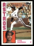 1984 Topps #127  Mike Madden  Front Thumbnail