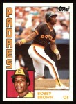 1984 Topps #261  Bobby Brown  Front Thumbnail
