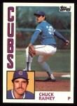 1984 Topps #334  Chuck Rainey  Front Thumbnail