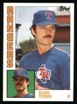 1984 Topps #341  Dave Tobik  Front Thumbnail