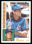 1984 Topps #353  Jim Anderson  Front Thumbnail