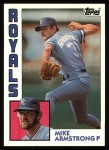 1984 Topps #417  Mike Armstrong  Front Thumbnail