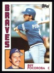 1984 Topps #438  Biff Pocoroba  Front Thumbnail
