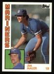 1984 Topps #461  Jim Maler  Front Thumbnail