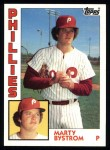 1984 Topps #511  Marty Bystrom  Front Thumbnail