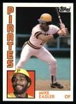 1984 Topps #589  Mike Easler  Front Thumbnail