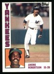 1984 Topps #592  Andre Robertson  Front Thumbnail