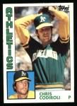 1984 Topps #61  Chris Codiroli  Front Thumbnail