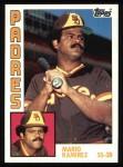 1984 Topps #94  Mario Ramirez  Front Thumbnail