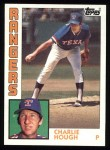 1984 Topps #118  Charlie Hough  Front Thumbnail
