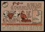 1958 Topps #149  Tom Acker  Back Thumbnail