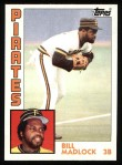 1984 Topps #250  Bill Madlock  Front Thumbnail