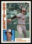 1984 Topps #260  Scott McGregor  Front Thumbnail