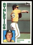 1984 Topps #265  Donnie Hill  Front Thumbnail