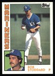 1984 Topps #439  Bob Stoddard  Front Thumbnail