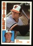 1984 Topps #473  Jim Dwyer  Front Thumbnail