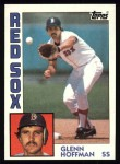 1984 Topps #523  Glenn Hoffman  Front Thumbnail