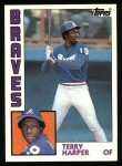 1984 Topps #624  Terry Harper  Front Thumbnail