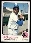 1973 Topps #118  John Mayberry  Front Thumbnail