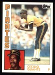 1984 Topps #122  Cecilio Guante  Front Thumbnail