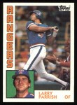 1984 Topps #169  Larry Parrish  Front Thumbnail