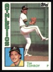 1984 Topps #189  Tim Conroy  Front Thumbnail
