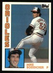 1984 Topps #191  Mike Boddicker  Front Thumbnail