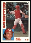 1984 Topps #323  Alan Knicely  Front Thumbnail