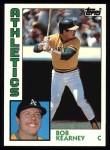 1984 Topps #326  Bob Kearney  Front Thumbnail