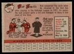 1958 Topps #445  Bob Smith  Back Thumbnail