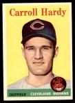 1958 Topps #446  Carroll Hardy  Front Thumbnail