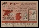 1958 Topps #261  Turk Lown  Back Thumbnail