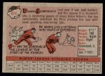 1958 Topps #474  Roman Semproch  Back Thumbnail