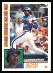 1984 Topps #688  George Wright  Front Thumbnail