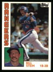 1984 Topps #758  Bill Stein  Front Thumbnail